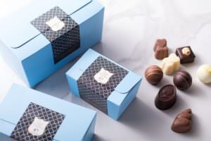 Ballotins, pralines and truffles