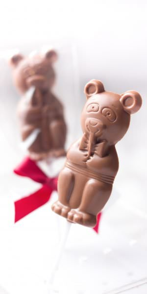 Mr. Bear - Milk sugar free lollipop