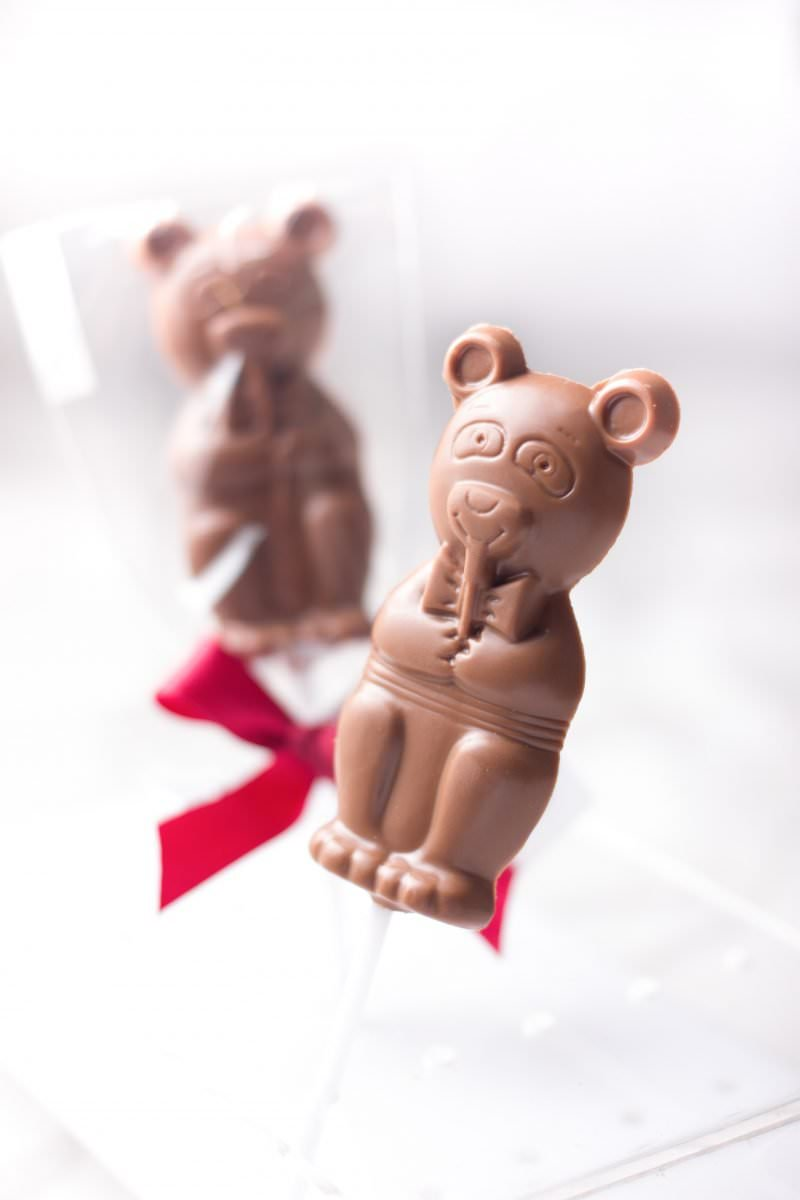 Mr. Bear - Milk sugar free lollipop