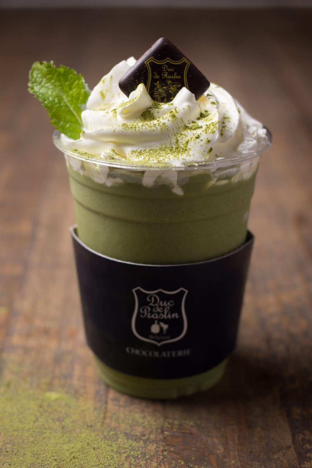 Green Tea Frappé