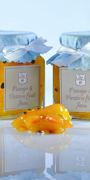 Orange & Passion Fruit Jam
