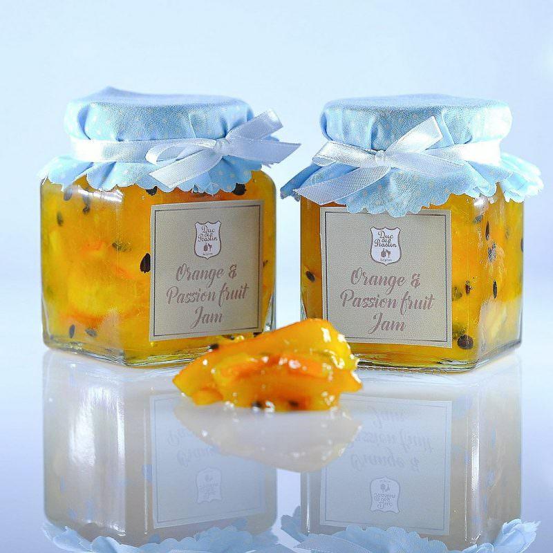 Orange & Passion Fruit Jam