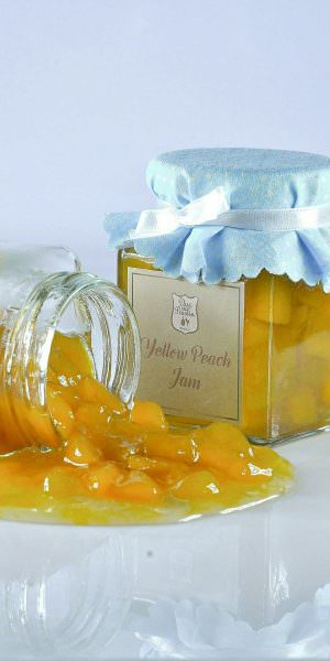 Yellow Peach Jam
